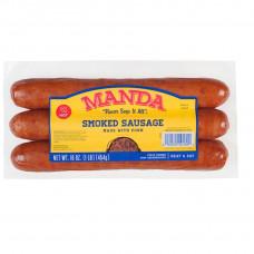 Manda Hot Sausage Links 16oz