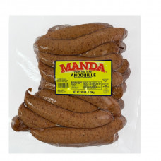 Manda Andouille Links 10lb